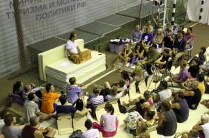 сатсанг Молдованова в Зеленом Доле 2012